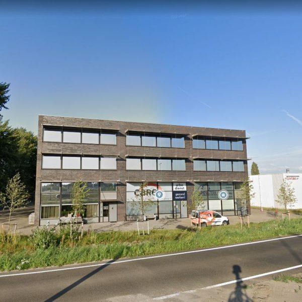 Kantoorpand Harderwijk Antireflectie Zonwerende raamfolie